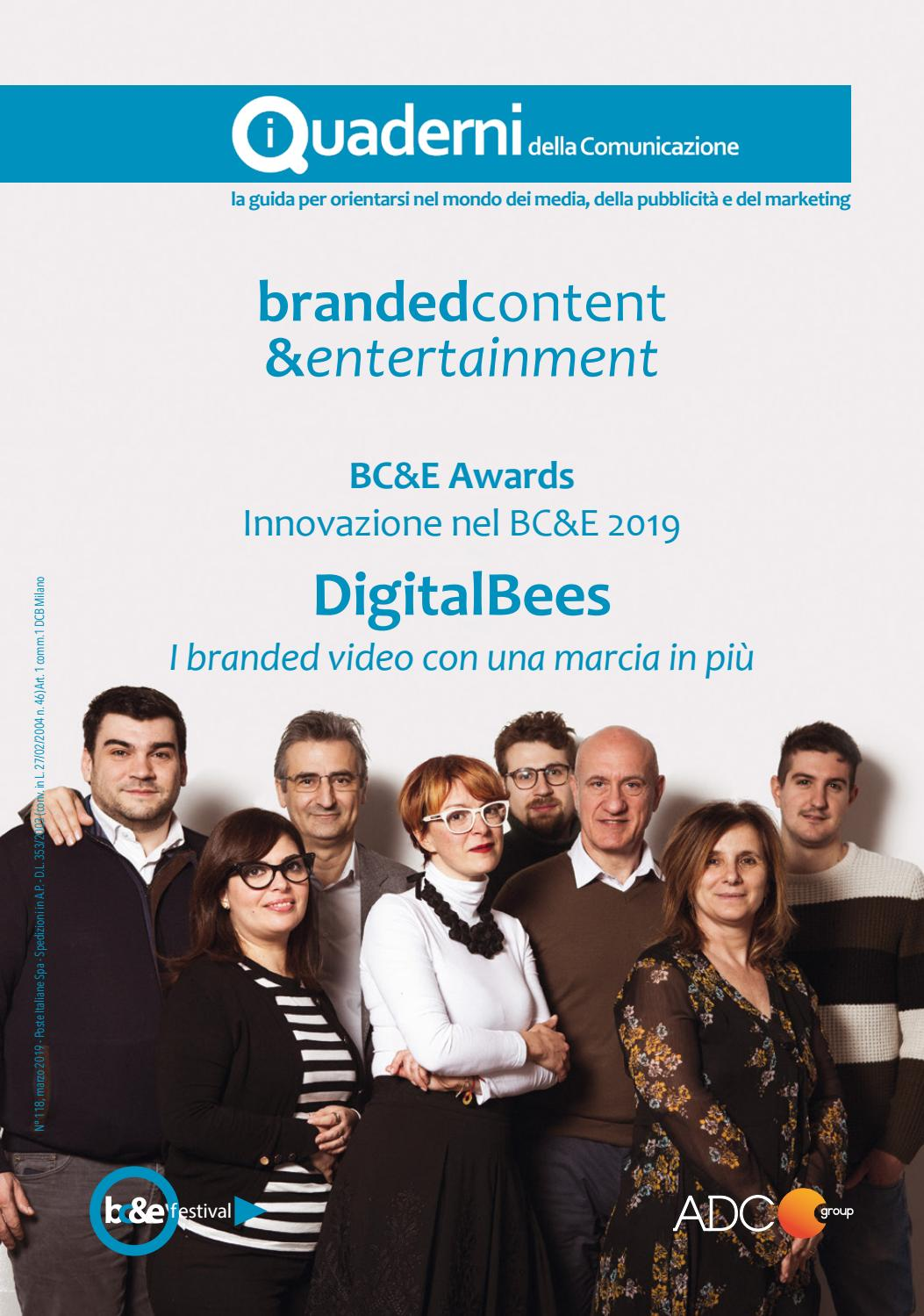 6944f6c51144 I Quaderni della Comunicazione 2019 - Branded Content   Entertainment by  ADC Group - issuu