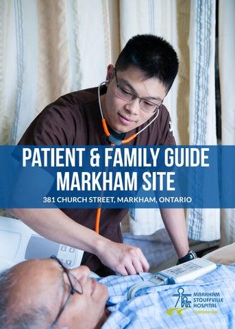 Markham Stouffville Hospital Patient & Family Guide - Markham Site