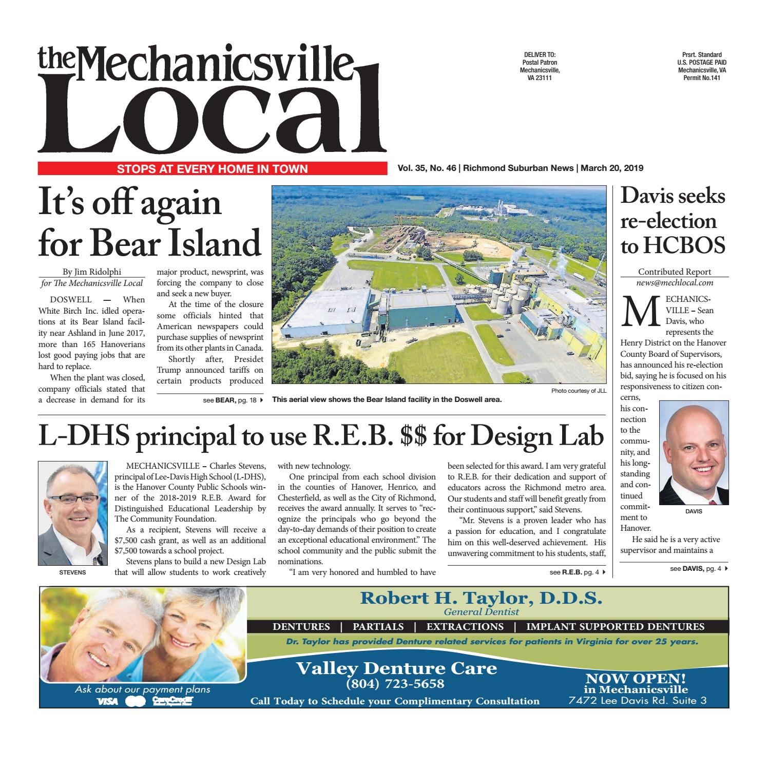 03/20/19 by The Mechanicsville Local - issuu