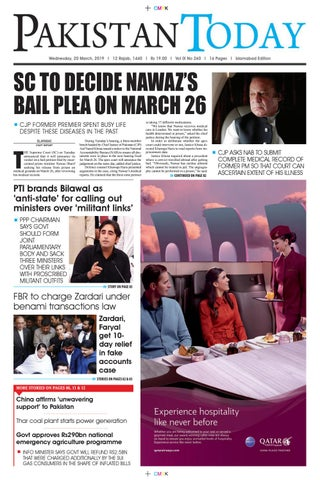 E-Paper PDF 20 March (ISB) by Pakistan Today - issuu