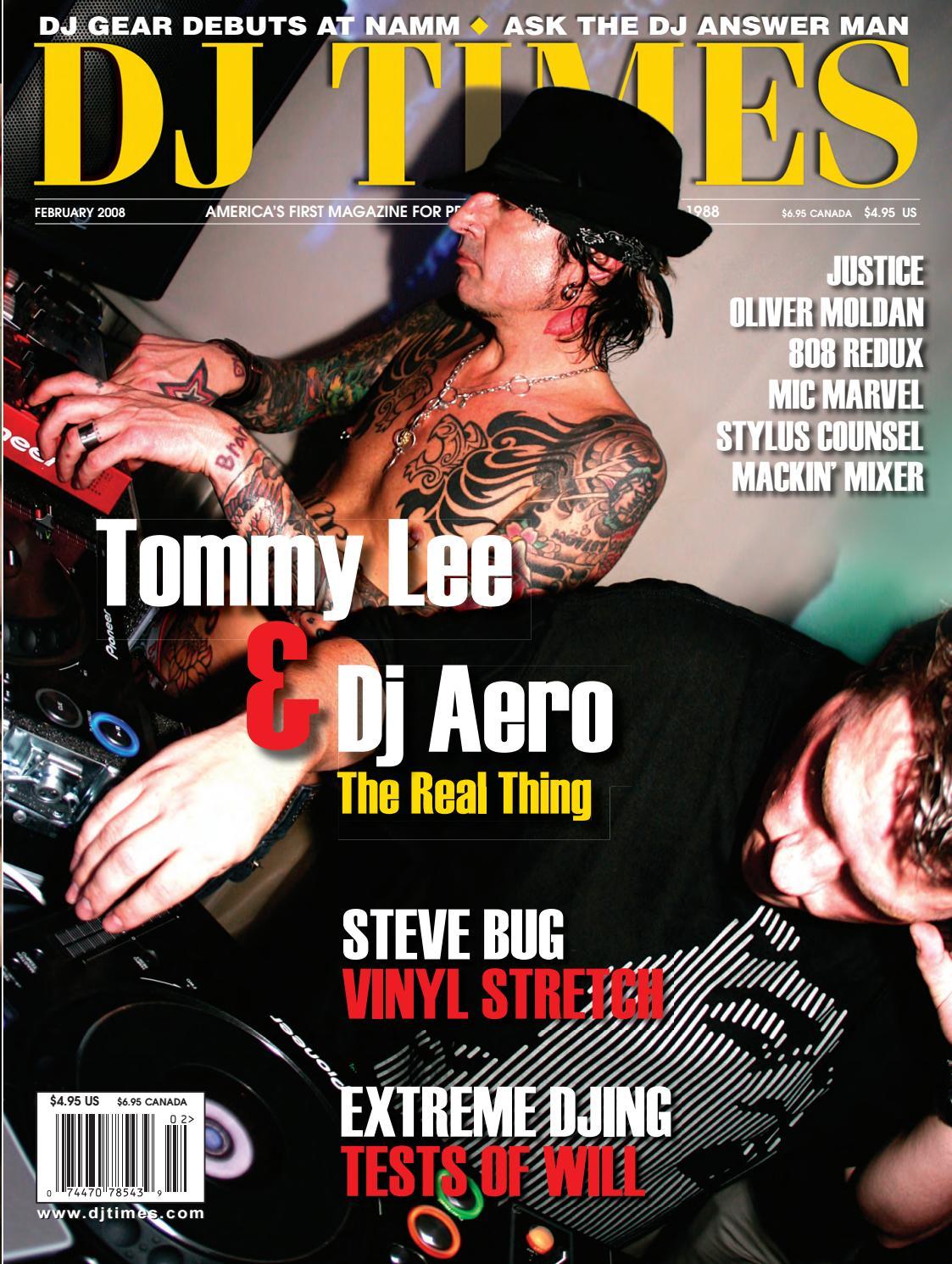 DJ Times February 2008, Vol 21 No 2 by DJ Times Magazine - issuu