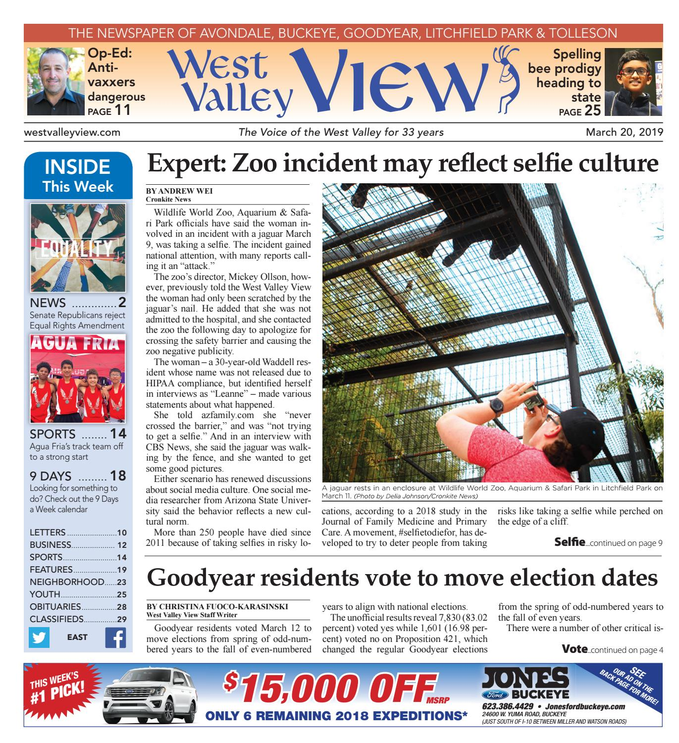 West Valley View East 03 20 2019 By Times Media Group