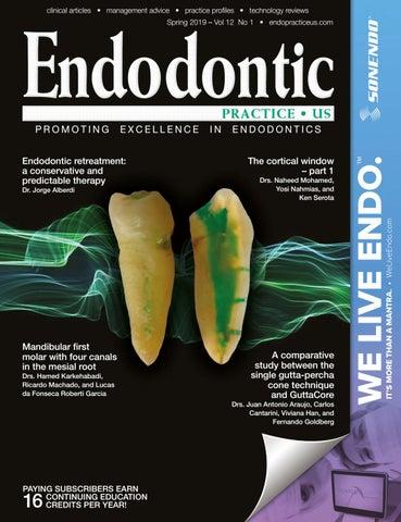 Endodontic Practice US Spring 2019 Vol 12 No 1 by MedMark, LLC - issuu