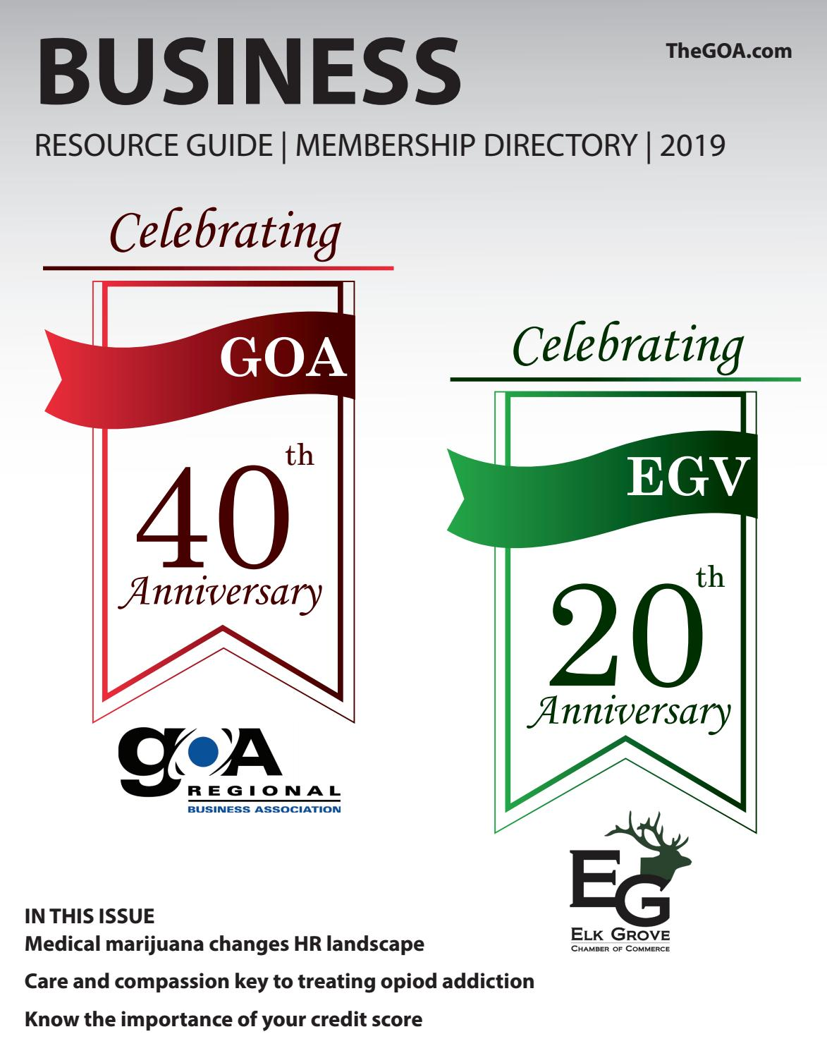 GOA Business Resource Guide 2019 by Town Square Publications