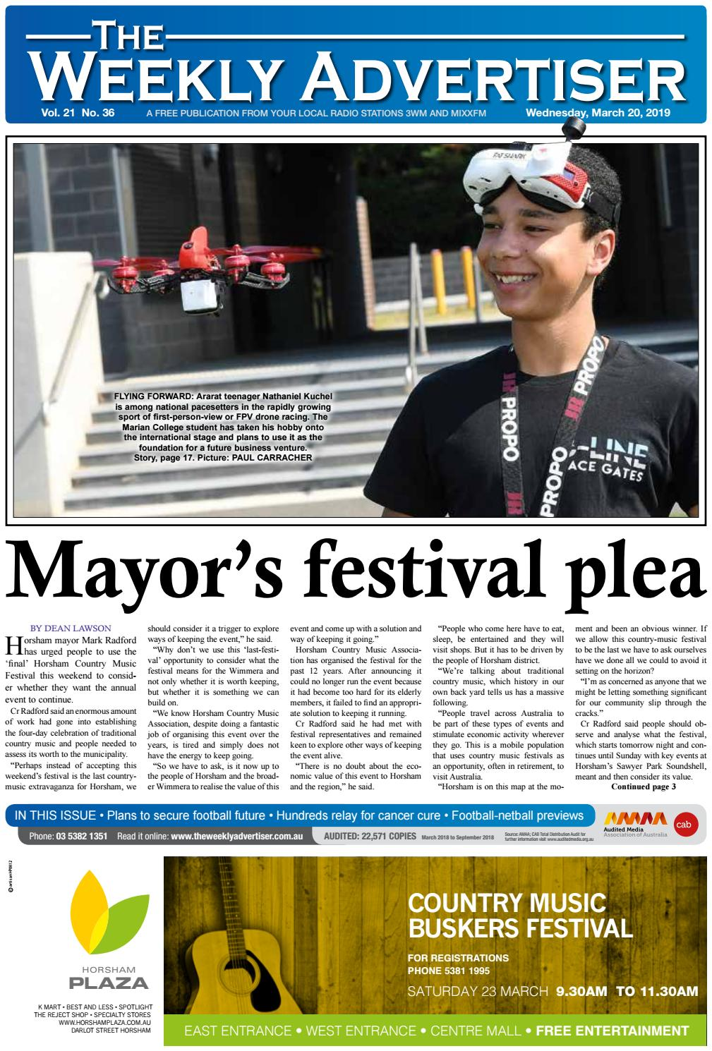 6989d5eb The Weekly Advertiser - Wednesday, March 20, 2019 by The Weekly Advertiser  - issuu