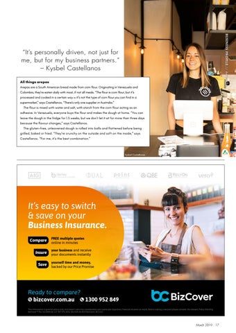 Page 17 of Business Profile: Arepa Oz