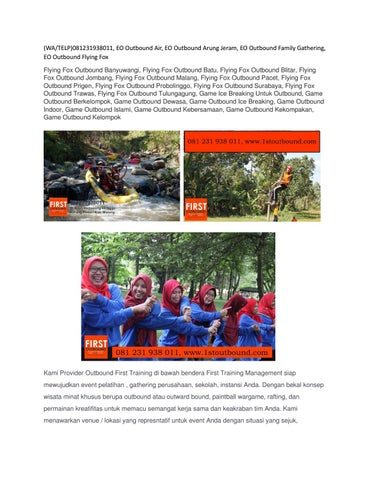 65fa4f4583 (WA/TELP)081231938011, EO Outbound Air, EO Outbound Arung Jeram, EO  Outbound Family Gathering