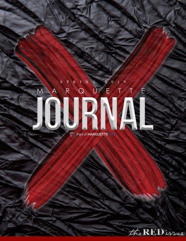 The Red Issue | Spring 2019 by The Marquette Journal - issuu