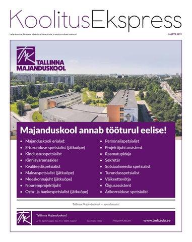 158ae02bfa4 KoolitusEkspress Lehe koostas Ekspress Meedia erilahenduste ja  sisuturunduse osakond