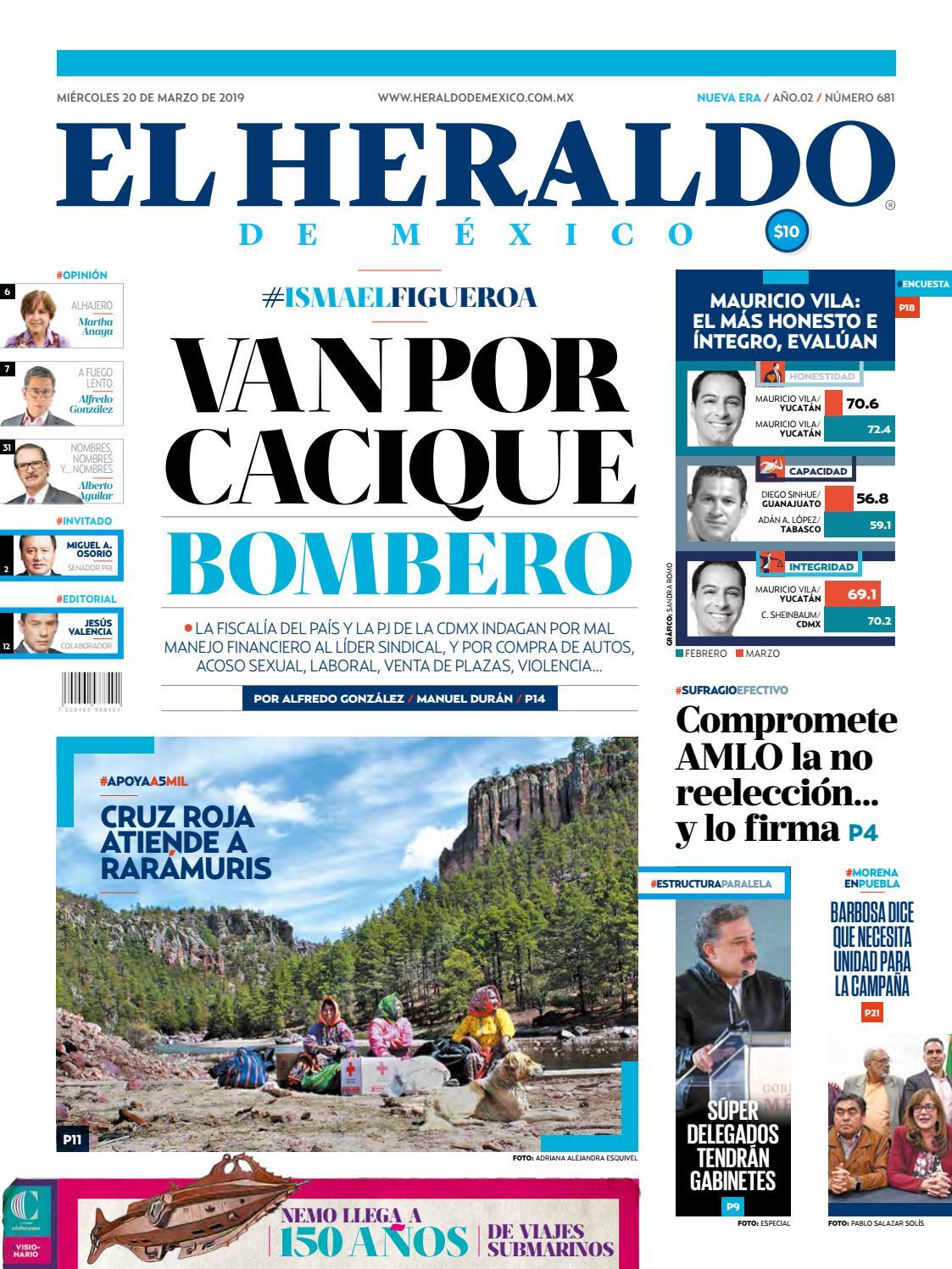 Miércoles 20 De Marzo De 2019 By El Heraldo De México Issuu