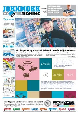 e9cb84a0a4de Jokkmokk Gratistidning vecka 12, 2019 by Svenska Civildatalogerna AB ...