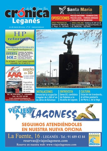 01bc2ce4c6 CRÓNICA DE LA ZONA SUR (Leganés), Nº 16. 20 de marzo de 2019