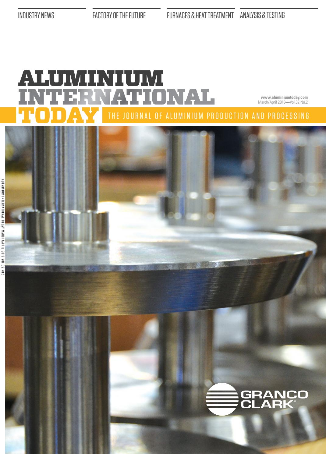Aluminium International Today March 2019 by Quartz Business