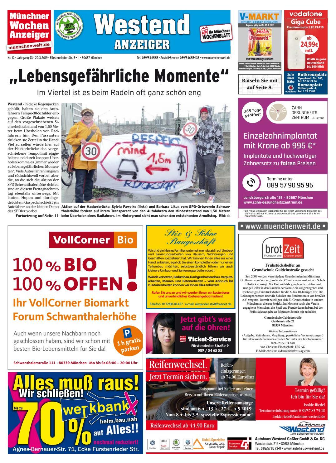 KW 12 2019 by Wochenanzeiger Medien GmbH issuu