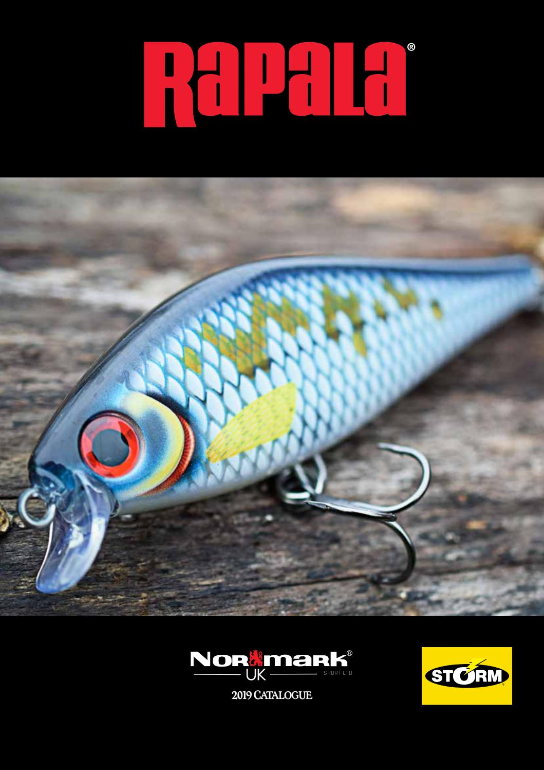 HS Rapala Shallow Shad Rap 7cm SSR07 Hot Steel