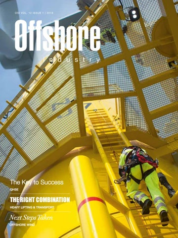 Offshore Industry 2019 Issue 1 by Yellow & Finch Publishers - issuu