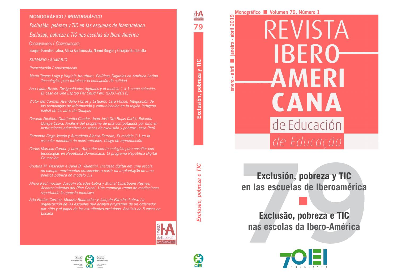 Revista Iberoamericanvol 79 Núm 1 2019 Exclusión