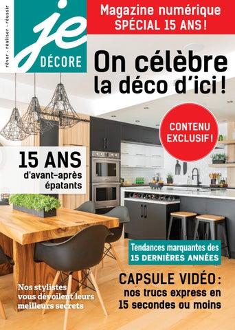 Beau Je Décore   Spécial 15 Ans! By Éditions Pratico Pratiques   Issuu