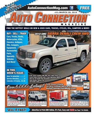 03-28-19 Auto Connection Magazine by Auto Locator and Auto