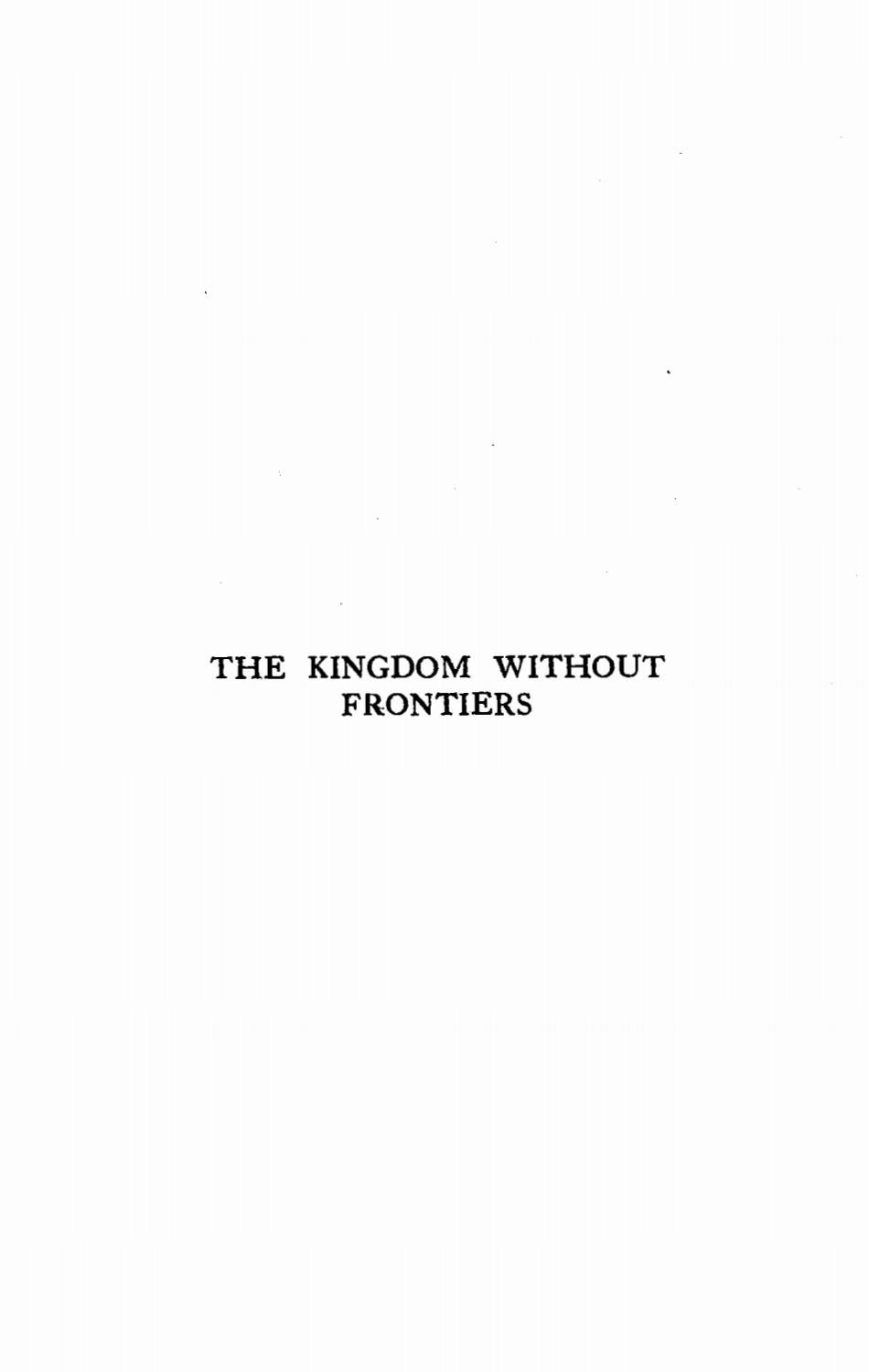 Thomas Moscrop [1860-1920], The Kingdom Without Frontiers  A