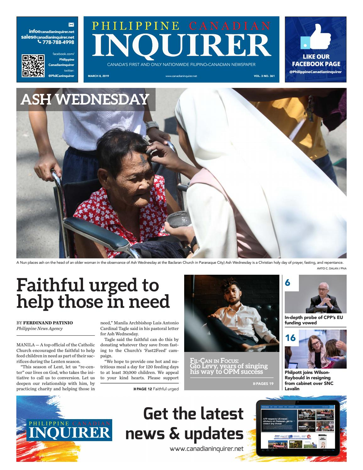 Philippine Canadian Inquirer #361 by Philippine Canadian Inquirer