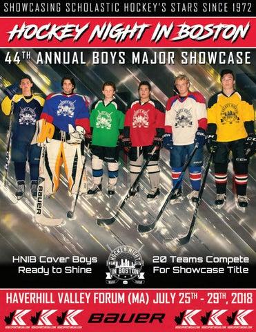 2019 HNIB Boys Major Showcase Magazine by Hockey Night in