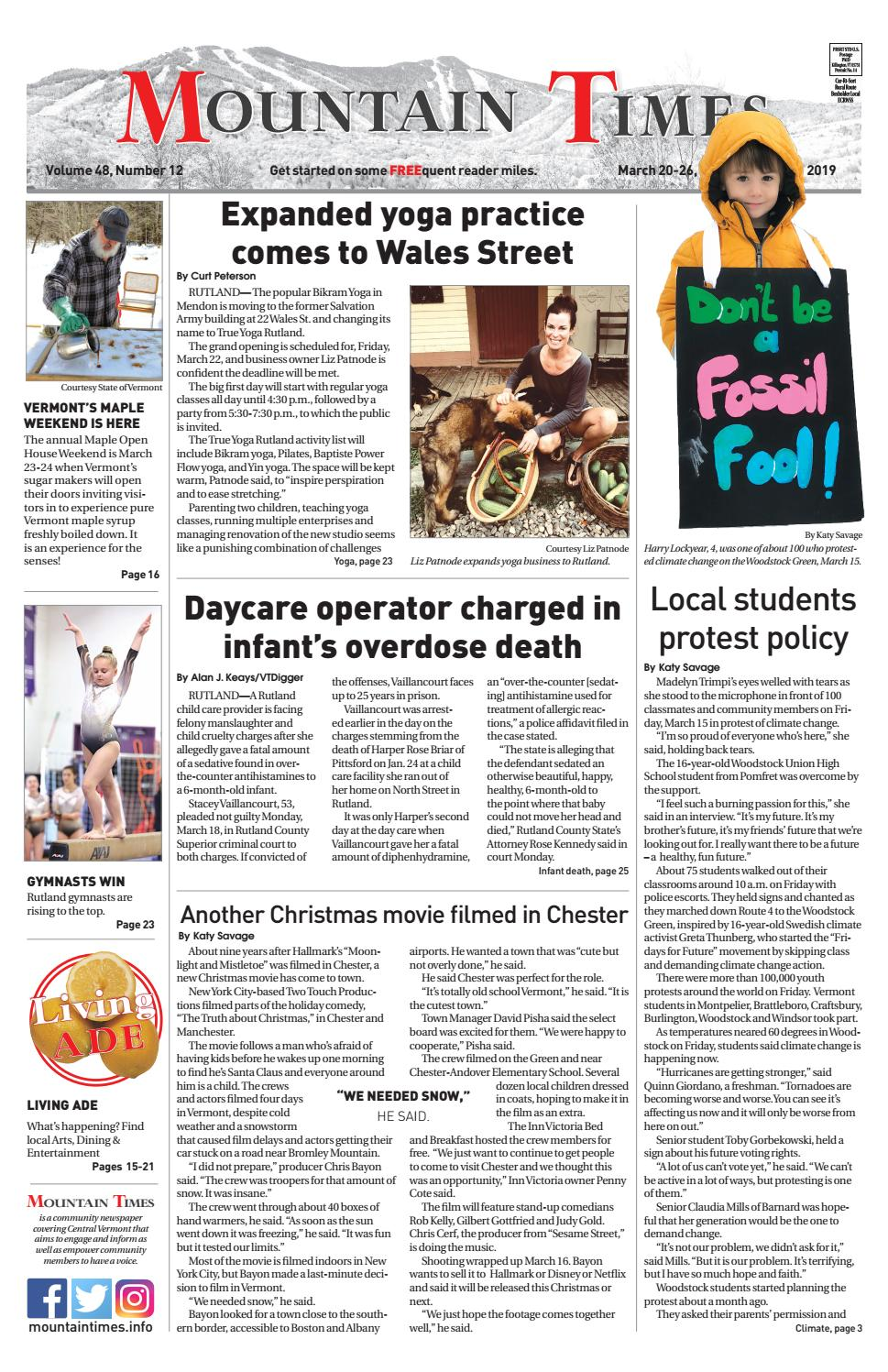 Mountain Times March 20, 2019 by Polly Lynn - issuu