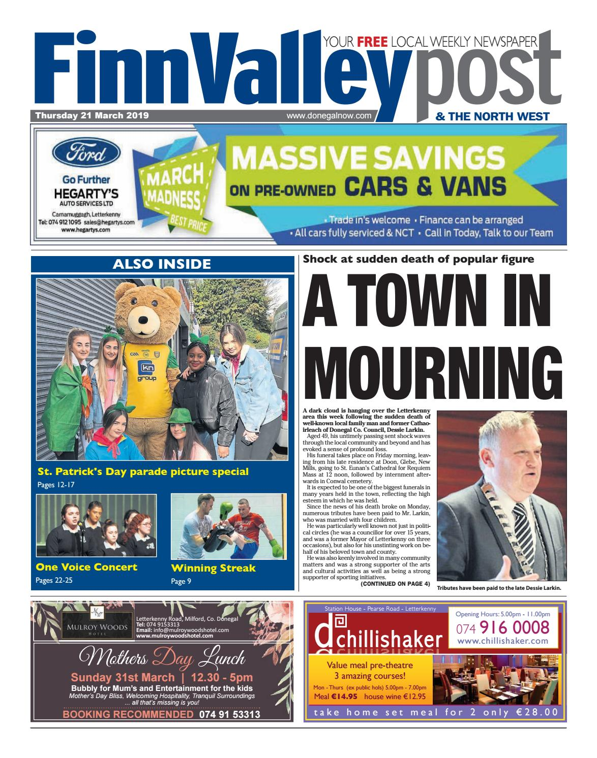 Thursday 21 March 2019 by River Media Newspapers issuu