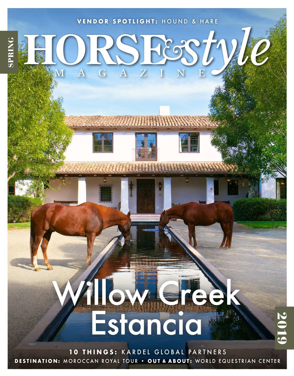 e6dd482a388 Horse   Style Magazine Spring 2019 by Horse   Style Magazine - issuu