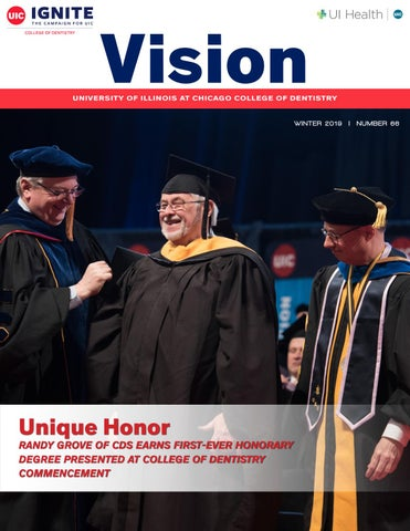 Vision, Winter 2019, UIC College of Dentistry