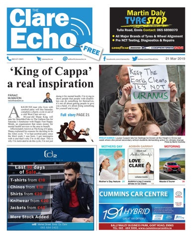 f0e5dd93030d3 The Clare Echo 21/03/19 by The Clare Echo - issuu