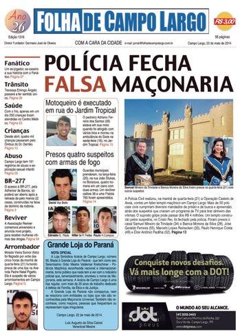 8d9b61d87 Folha de by Folha de Campo Largo - issuu