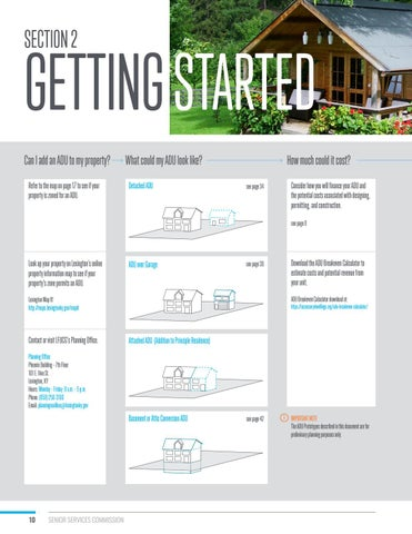 Page 10 of Section 2: Getting Started