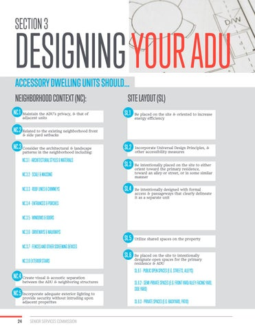 Page 24 of Section 3: Designing Your ADU