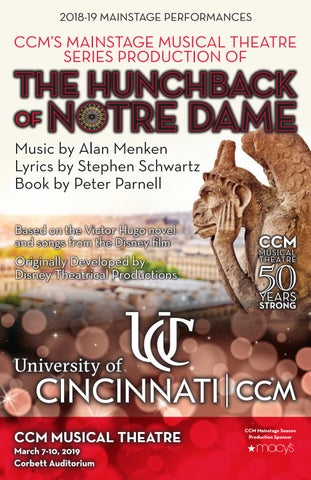 CCM's Mainstage Series Presents 'The Hunchback of Notre Dame
