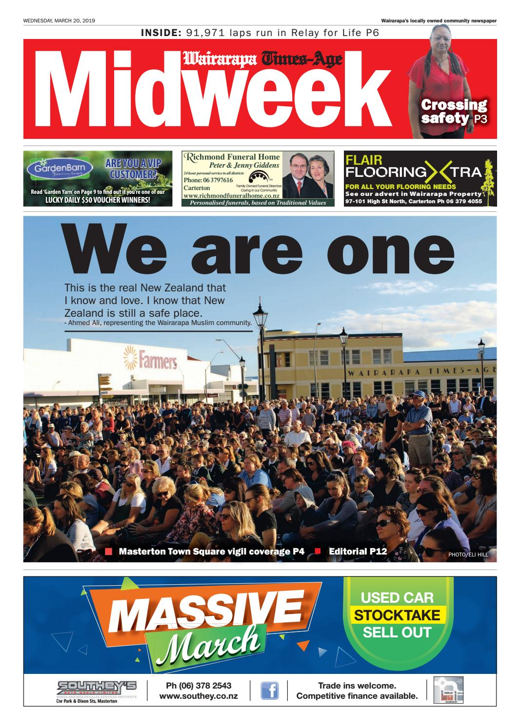 403fce79c Wairarapa Midweek Wed 20th March by Wairarapa Times-Age - issuu