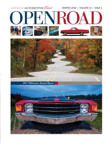 OpenRoad | Winter 2018 | Volume 14 | Issue 1 by LeMayACM - issuu
