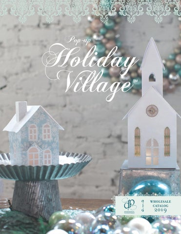 How To Store Christmas Village Houses.Christmas Village Houses That Fold Flat To Store By
