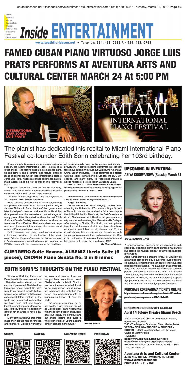 Sun Times Issue 03 21 19 by The South Florida Sun Times