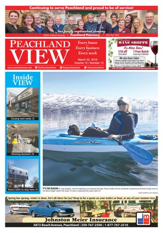 Peachland View March 22, 2019 by Mike Rieger - issuu