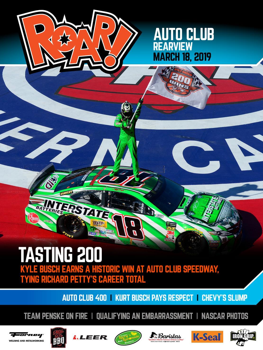 Roar 2019 Auto Club In March Rearview
