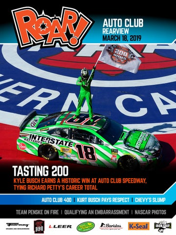 Roar! 2019 Auto Club in March Rearview by A E  Engine - issuu