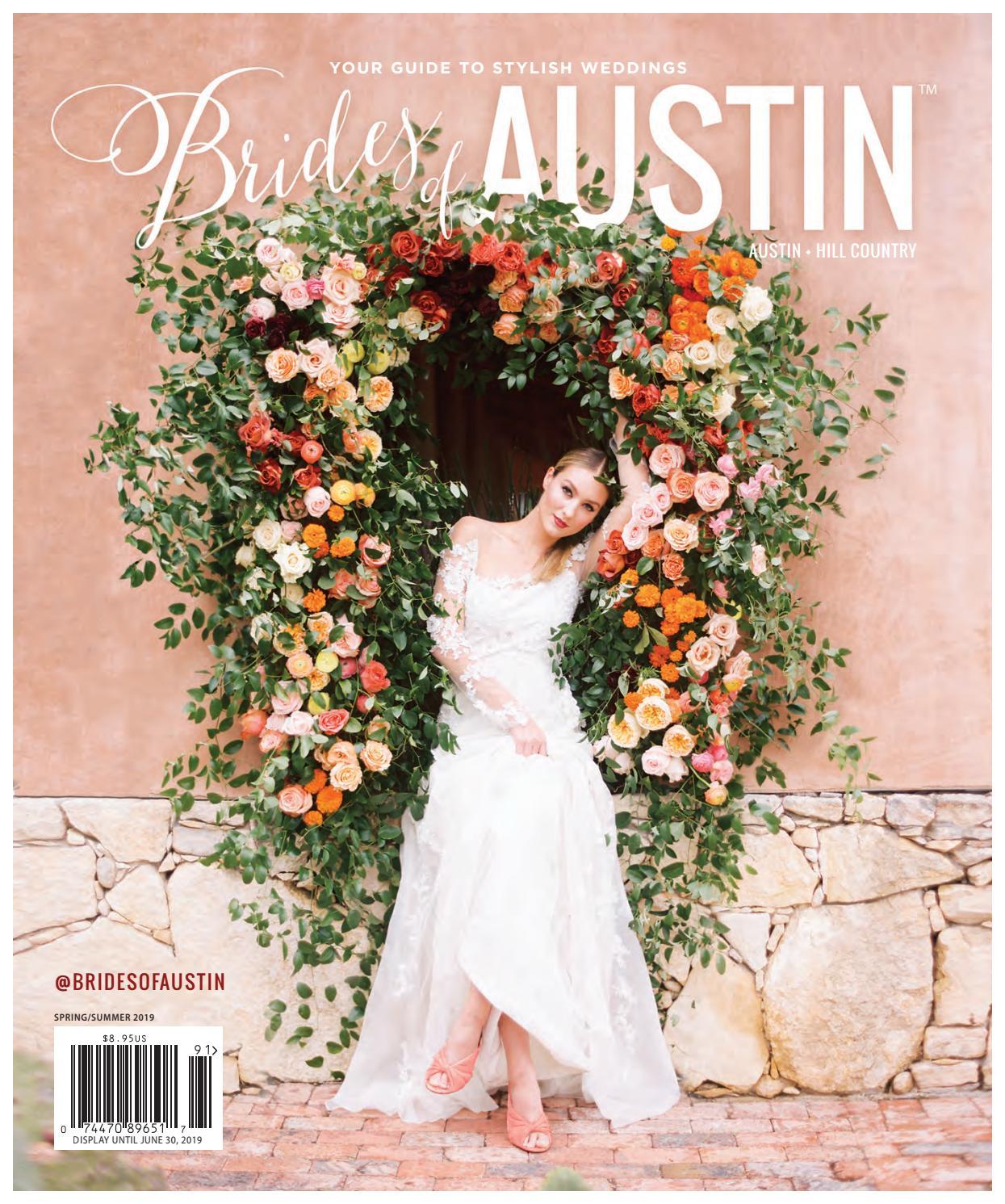 6bedcce7107 Brides of Austin - Spring   Summer 2019 Issue by Wedlink Media - issuu