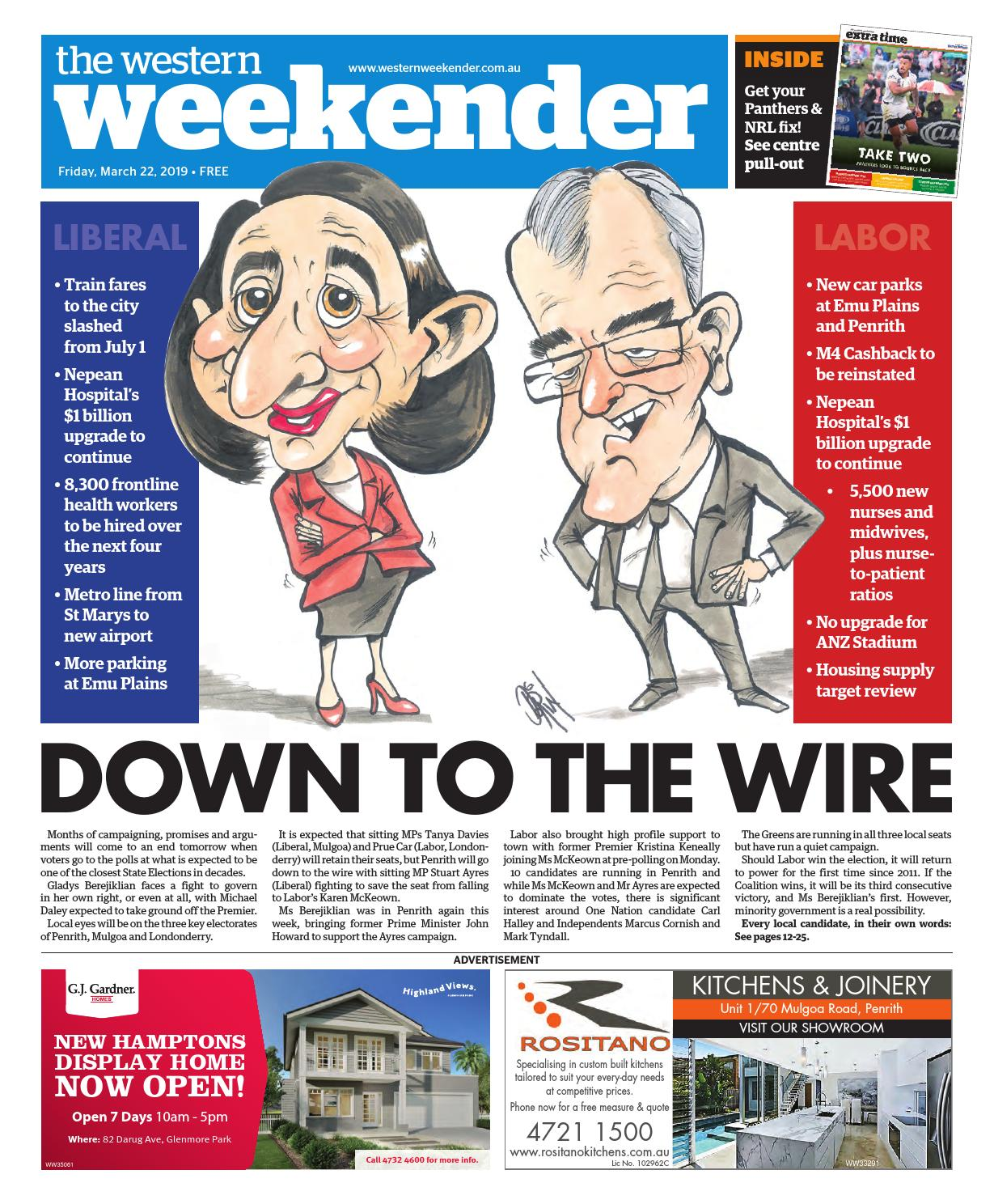 48cd56bd8d Western Weekender March 22 by Western Sydney Publishing Group - issuu