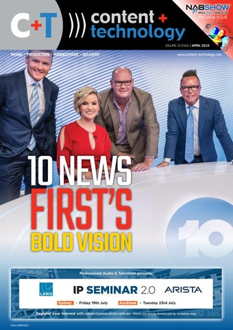 Content+Technology ANZ April 2019 by Broadcastpapers Pty Ltd