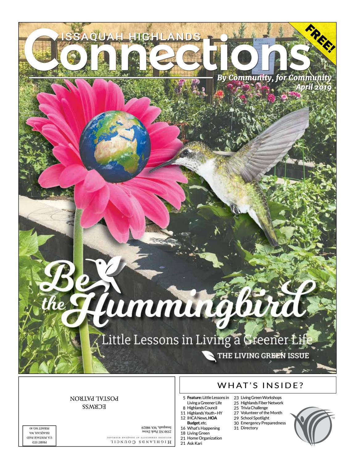 April 2019 by Issaquah Highlands Connections - issuu