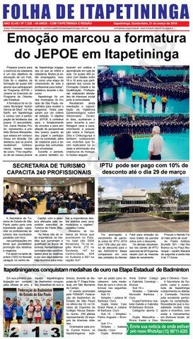 Folha de Itapetininga 21/03/2019 (Quinta-feira)