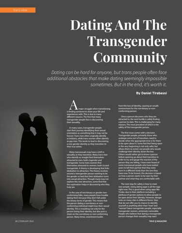 Page 16 of Dating And The Transgender Community
