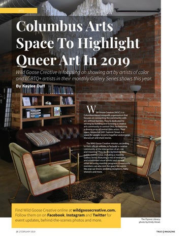 Page 18 of Columbus Arts Space To Highlight Queer Art In 2019