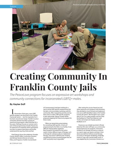 Page 22 of Creating Community In Franklin County Jails